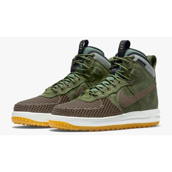 new product b9cbe cb2a7 Nike Lunar Force 1 Duckboot Brown Olive 805899-200